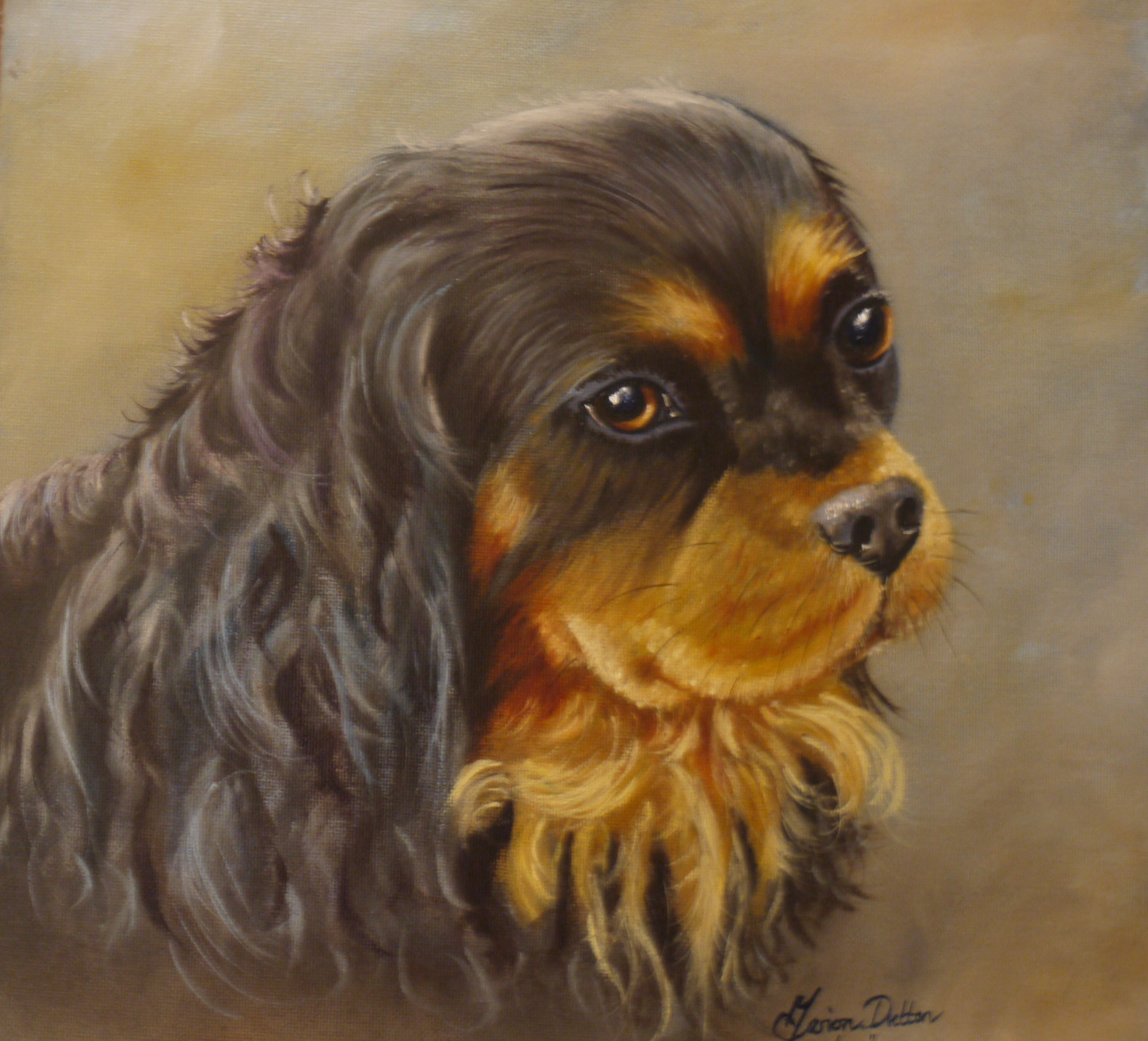 Mazart pet portraits for Painting of your dog
