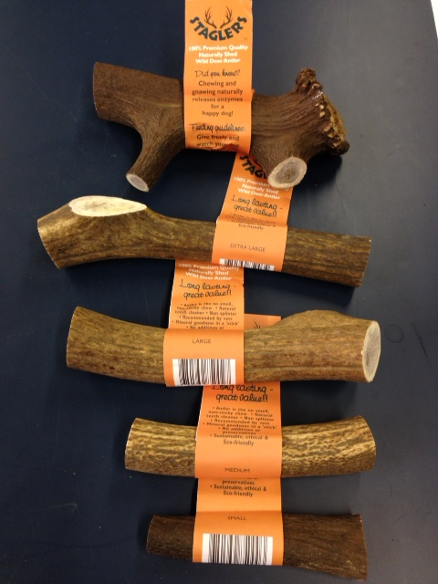 Stagler Original Deer Antler Dog Chew